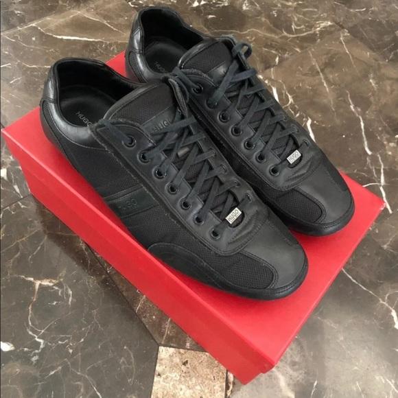 hugo boss black trainer shoes Online